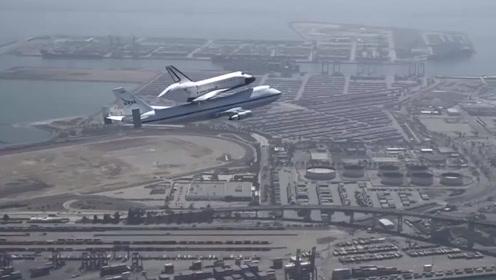 看航天飞机发射与降落!真的超震撼!