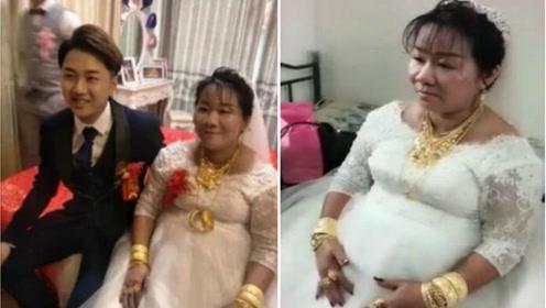 海南小伙娶36岁怀孕的新娘 被陪嫁几百万和2辆豪车