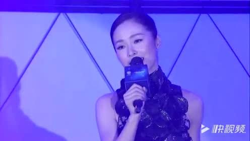 江一燕在颁奖台献唱电视剧主题曲,一开口完全被陶醉,太好听了!