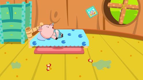 懒惰的小猪
