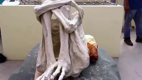 秘鲁出土奇异木乃伊 俄科学家验DNA称是外星人