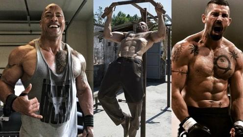 巨石强森和斯坦森劲爆训练视频曝光,看看超级明星是如何锻炼的!