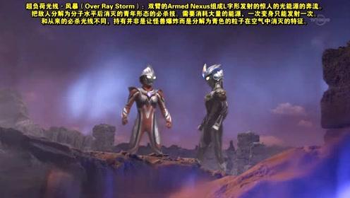 艾克斯奥特曼和奈克瑟斯奥特曼进入异次元,在异次元进行战斗