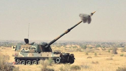 不炸膛就是好炮?印度国产自行火炮原为韩国货