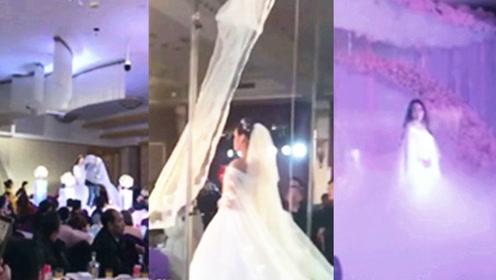 结婚本来是个开心的日子,但这事却让新娘有点尴尬了