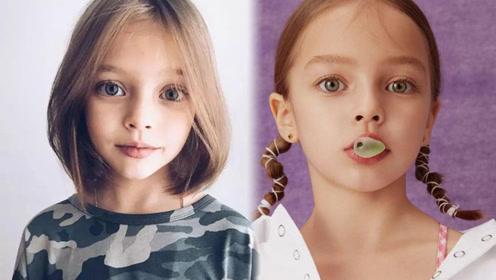 3岁出道 这个小女孩用逆天颜值征服了所有俄罗斯人