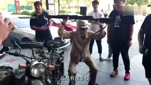 婚礼队穿日军军服骑摩托过街 男子:我不是精日伤了民族情感我道歉