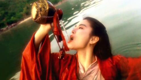 林青霞最邪魅的一场戏,把李连杰都给美哭了!