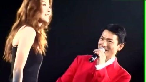 陈慧琳刘德华演唱《我不够爱的你》得奖全因为刘德华