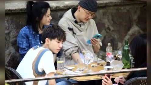 《中餐厅2》最新路透曝光 赵薇包贝尔杨子姗同框合照