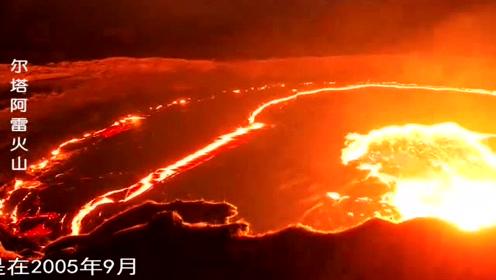 埃塞俄比亚最活跃的火山,永久的熔岩湖!