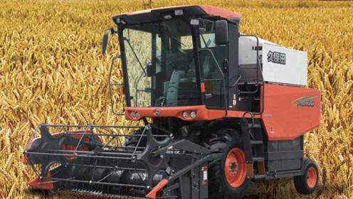 100马力久保田小麦联合收割机,每秒喂入5kg,有这缺点你知道吗?