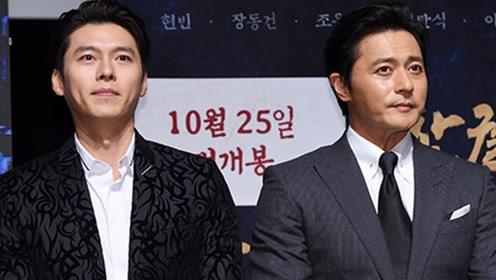 张东健与玄彬首次合作拍电影 自称年纪大了适合穿韩服