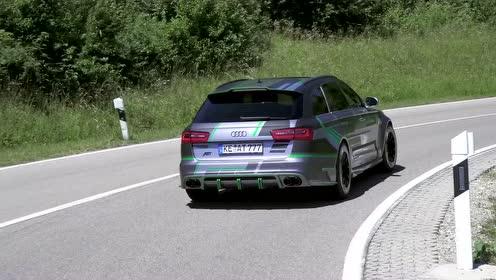 ABT改装千匹RS6的视频