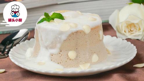 豆腐慕斯是甜蜜的负担,好吃不会胖,吃成瘦子可别怪我!