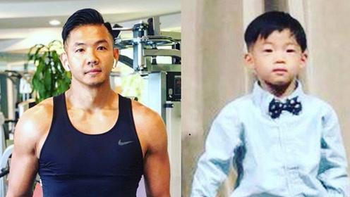 范玮琪晒黑人和儿子翔翔对比照 网友:一模一样!