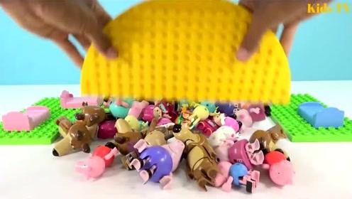 超好玩的小游戏,小猪佩奇大集合,亲子互动