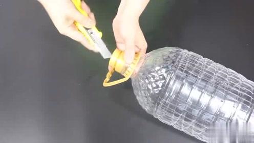 大油桶简单改造下,放在阳台,超实用