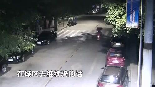 骑着赃车去偷车 连续两天盗车两起
