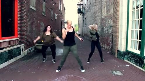 健身教练的舞蹈,很不错的