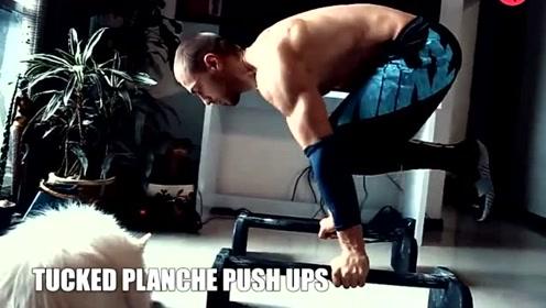 学会这两个动作,让自己的肌肉满满,充满力量