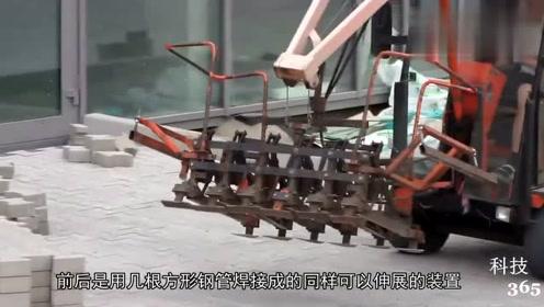 建筑公司老板发明新型搬砖块机器,一年节省人力成本20万