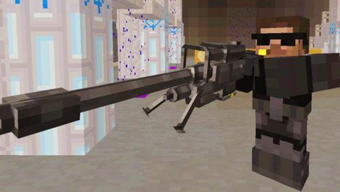 大海解说 我的世界minecraft 特种兵大战机器人