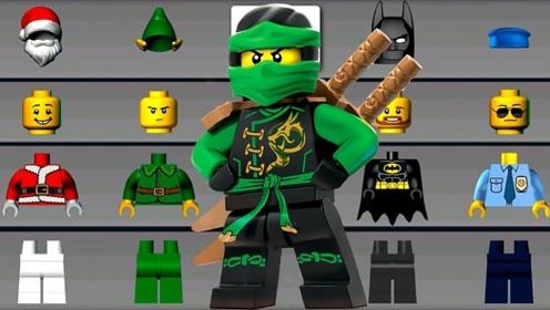 乐高幻影忍者第4期 乐高积木游戏蝙蝠侠建立警察怪物汽车乐高游戏
