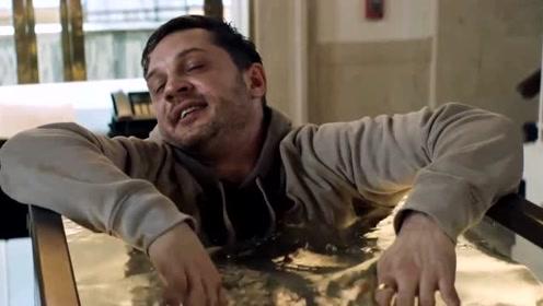 《毒液》中男主的这段演技真是太赞了,给两座小金人都不够!