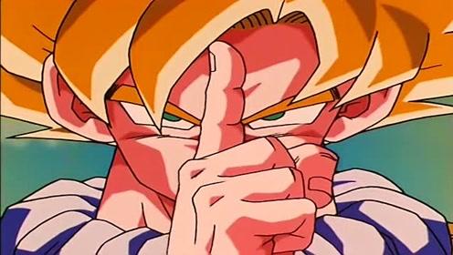 龙珠Z:悟空与未来特南克斯切磋,只需一根手指就够了