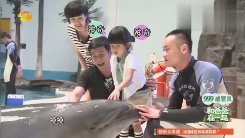 要亲海豚吗贝儿补刀少女:不要,因为它嘴巴臭
