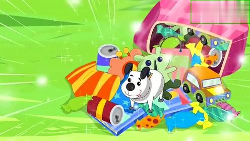 大头儿子:棉花糖带来泡泡糖,居然能吹出来各种各样的动物形状来