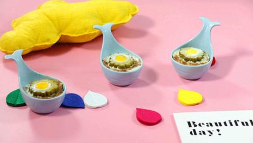 宝宝辅食:咸蛋黄苦瓜酿肉