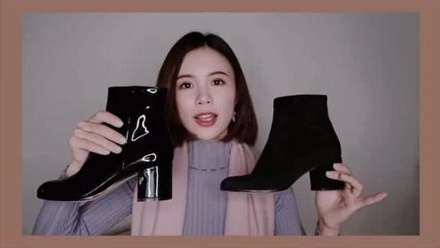 今冬最爱的六双轻奢鞋 靴子高跟鞋平底鞋打折购物分享