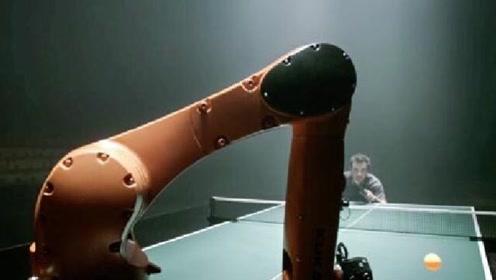 和德国机器人打乒乓球是何种体验?