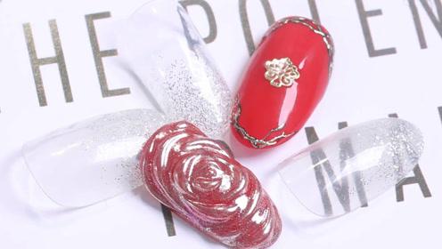 优雅大红 镜面玫瑰