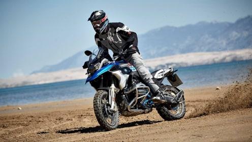 山路十八弯,风景真好看,实拍BMW R1200GS骑行峡谷山路