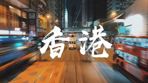 春节用 iPhone X 手机记录电影感的香港