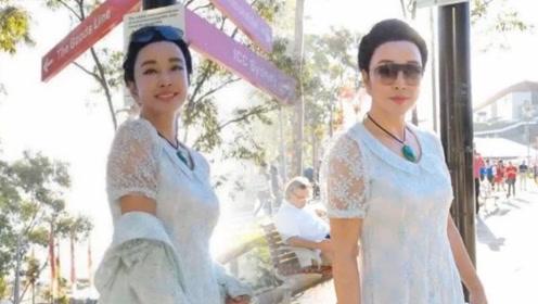 刘晓庆近照额头似寿星公 网友:这脸看着很恐怖!