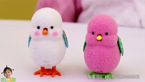 《苏菲娅玩具》小朋友们更喜欢那个颜色的玩具小鸡呢?