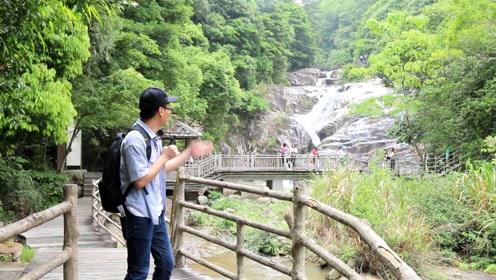 """探访华南最美瀑布群,偶遇神奇""""五棵松"""",背后故事令我诧异"""