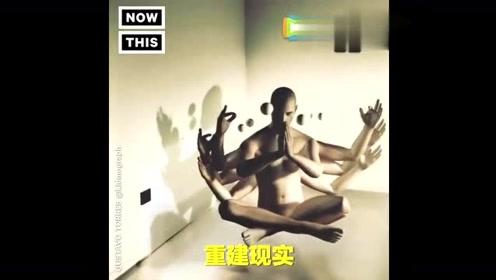 虚拟还是现实?超酷炫3D跟踪效果动画让你脑洞大开