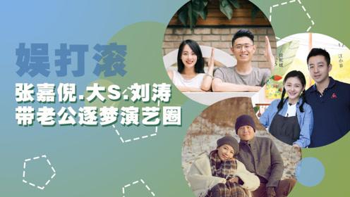 富豪们的娱乐圈打开方式,看张嘉倪大S刘涛如何带老公逐梦演艺圈