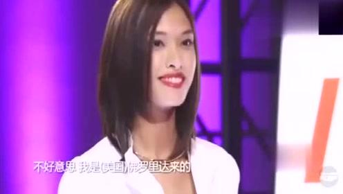 女选手不承认自己是中国人,被评委骂得太解气了!给评委怒赞!