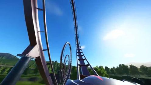 全球最疯狂的过山车,被人称为安乐死机器,坐上去三分钟结束生命