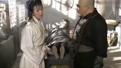 石头和尚要离开了,阿得却拦着他不让走,最后俩姑娘都给收了