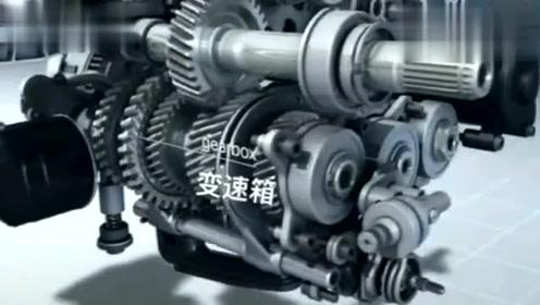 宝马R1200GS发动机内部结构