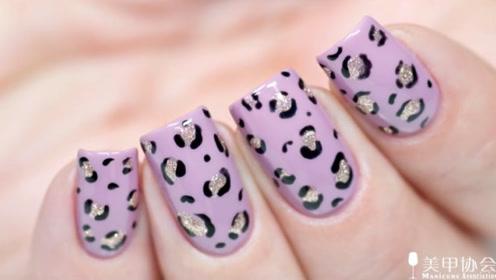 灰紫调豹纹美色
