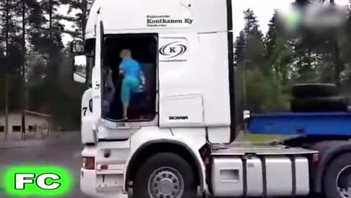 世界上最长的大货车,开这车的老司机科目二肯定考满分