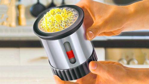 看看这7个有创意的厨房小发明,人类就是会享受,活得讲究